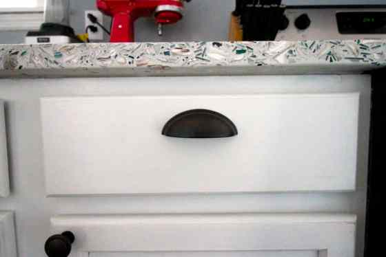 We Have Counter Tops- All of the Details of our Recycled Glass Counter Tops! - Charleston Crafted