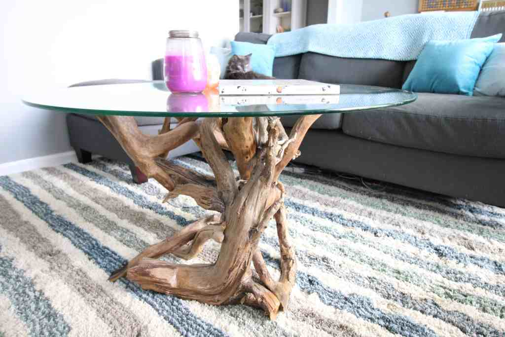 diy driftwood coffee table update charleston crafted