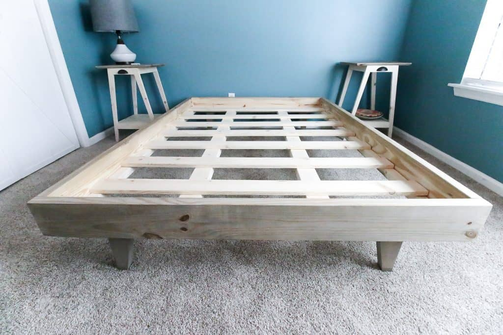 How To Build A Platform Bed For 50 Free Pdf Plans