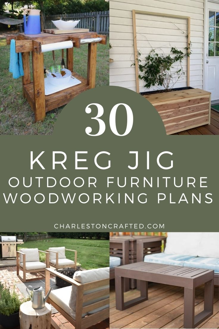 30 outdoor furniture projects you can
