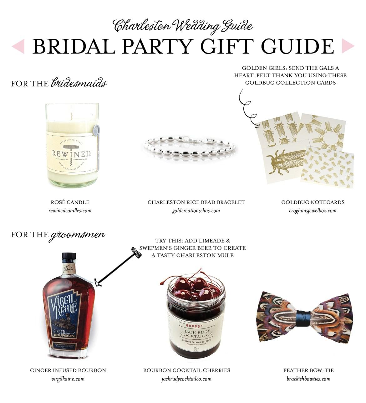 Bridal Party Gift Guide Charleston Style Explore Charleston Blog