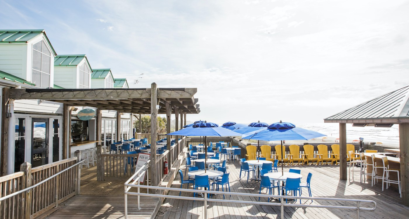 Charleston Beach Dining Guide