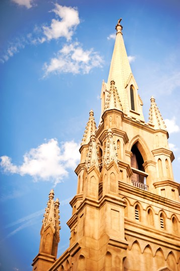 GRACE IN THE HOLY CITY: We don't have skyscrapers. We have steeples. The Charleston peninsula's skyline is speckled with church spires, a beautiful illustration of the city's nickname: the Holy City.