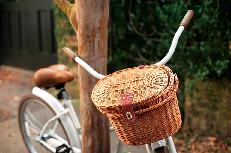 Riding bicycles on Church Street in Charleston