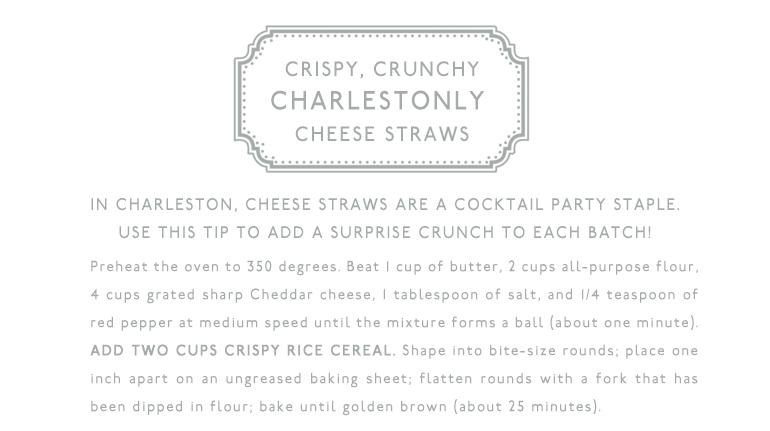 Charlestonly Cheese Straw