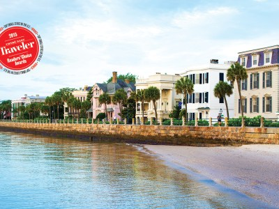 Just Announced! Charleston Named No. 1 City in the U.S. by Condé Nast Traveler 2015 Readers' Choice Awards!