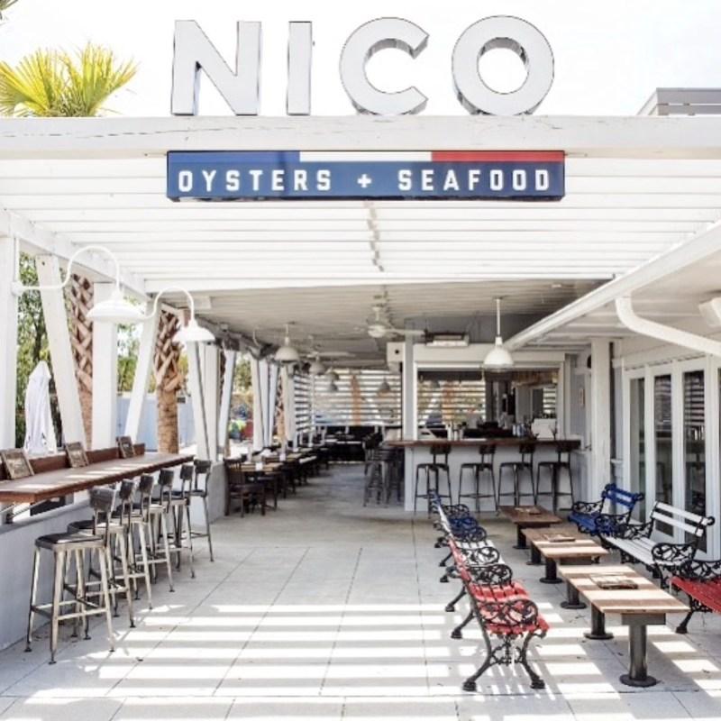NICO restaurant in Mount Pleasant