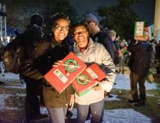 Charleston Southern University students pack 5115 Operation Christmas Child boxes