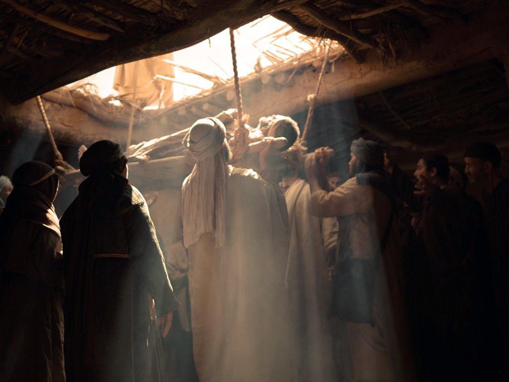 Mark 2 And When Jesus Saw Their Faith Charlestown