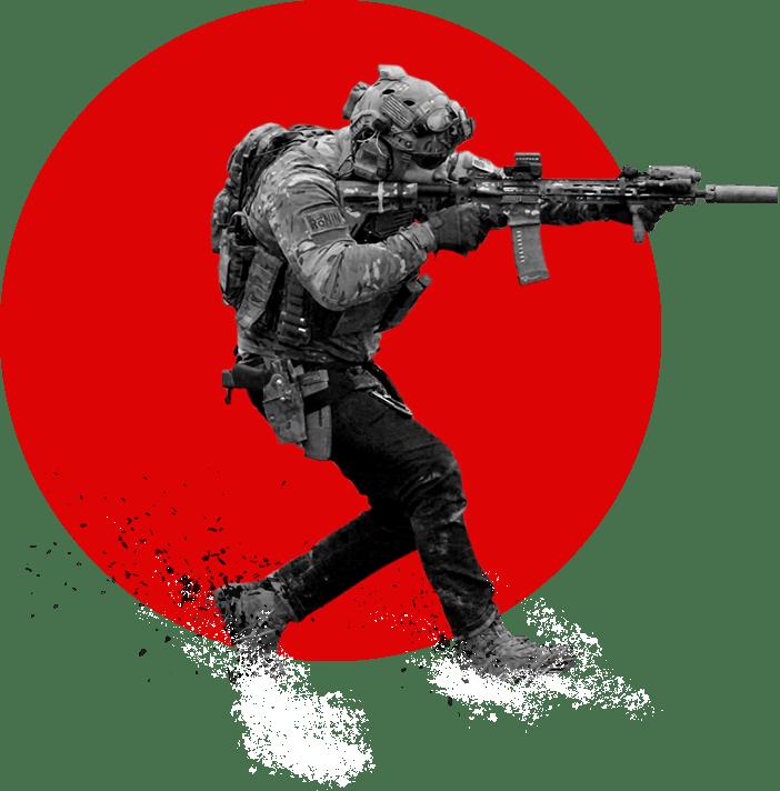 tu with gun running