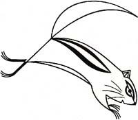 Chipmunk   Charley Harper   Original Artwork