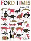 Ford Times   January 1958   Charley Harper Prints   For Sale