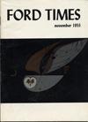 Ford Times   November 1955   Charley Harper Prints   For Sale