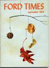 Ford Times   September 1954   Charley Harper Prints   For Sale
