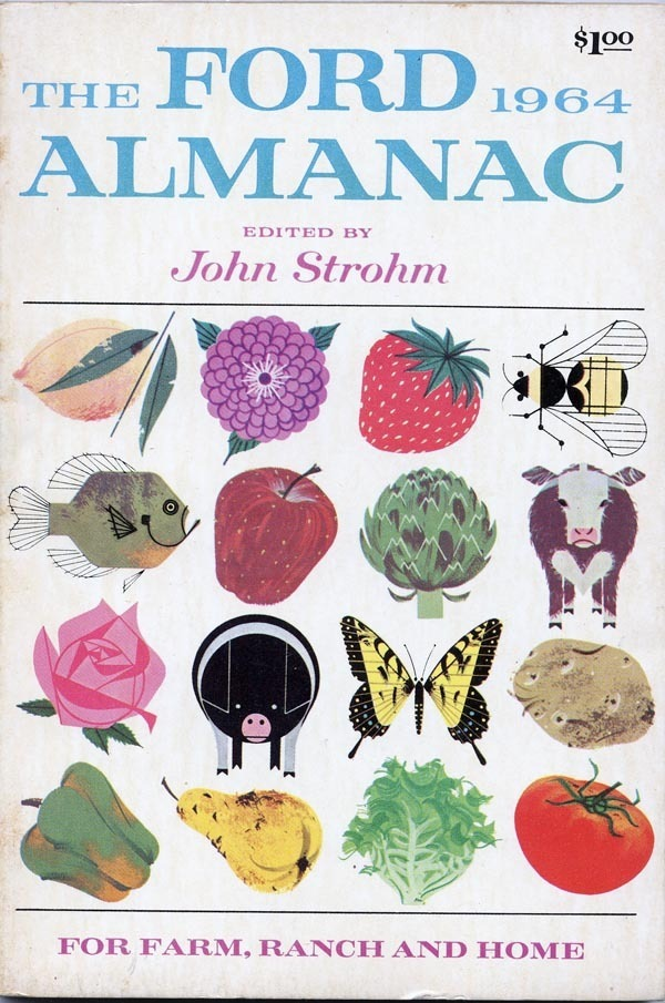Ford Almanac 1964 | Commercial Works | Charley Harper Prints | For Sale