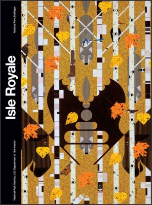Isle Royale 300 x 404 | Charley Harper Prints | For Sale