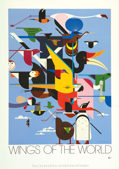 Wings Of The World | Charley Harper Prints | For Sale