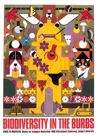 Biodiversity In The Burbs | Charley Harper Prints