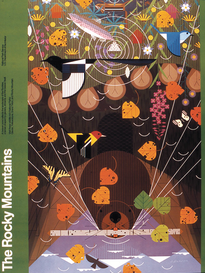 National Park Poster Showcase By Charley Harper The Charley Harper Gallery