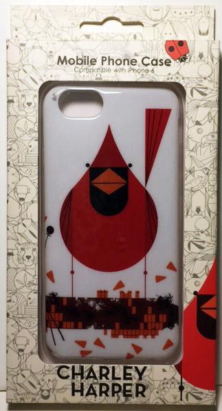 Cardinal Closeup case