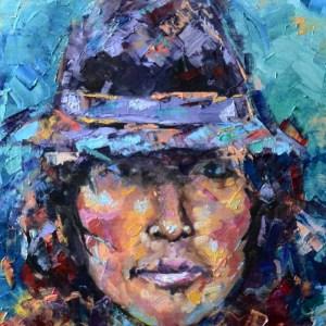 Expressive portrait by Charley Jones