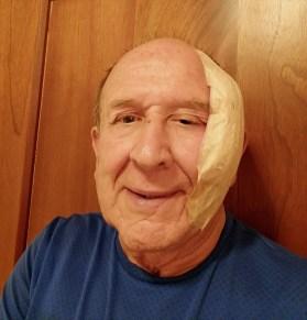 Surgery day bandage