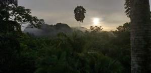 Sunrise near Cabin 10