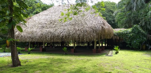 """Rancho"" or meeting or picnic pavilion"