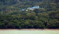 Hotel Seen from Ocean Boat