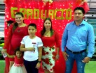 Nelyin's aunt & niece, brother Rudito, Mom Mayra and father Rudy.