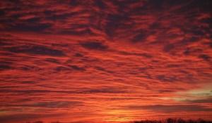 Sunrise-Reflecting-on-Clouds