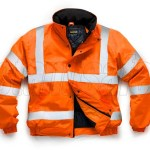 hi vis orange bomber jacket