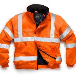 hi vis orange bomber jacket