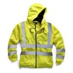 hi vis hoodie yellow