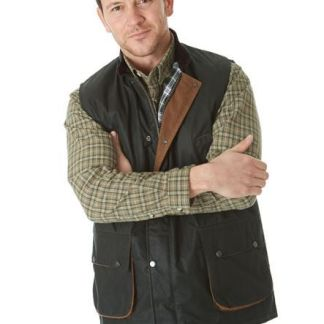 suffolk wax gilet