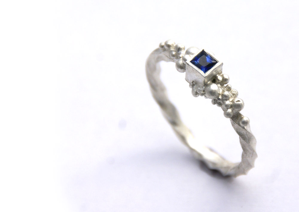 Charlie Leftley Saphire ring
