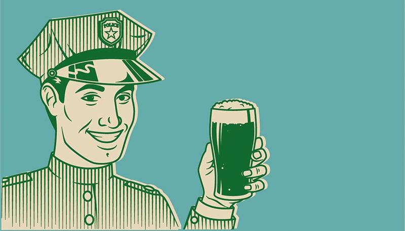 Alcohol in je lijf: geen klein bier