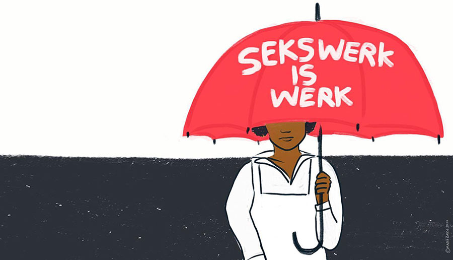 """""""Sekswerkers hebben niets aan de morele oordelen van anderen. Ze willen gewoon kunnen bestaan. En werken."""""""