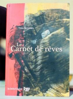 couverture Carnet de Rêves BD Théa Rojzman