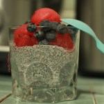 recette pudding dessert petit-dejeuner gouter chia graines fruits