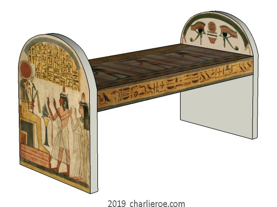 new ancient egyptian revival style