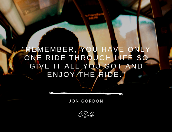 Music, Quotes & Coffee - picture of a quote by jon gordon