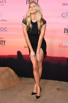 Charlotte McKinney - 12th Annual Leather and Laces Super Bowl Party Night - 11
