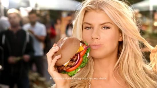 Charlotte McKinney - AU NATUREL - The All-Natural Burger - Carls Jr. - 5