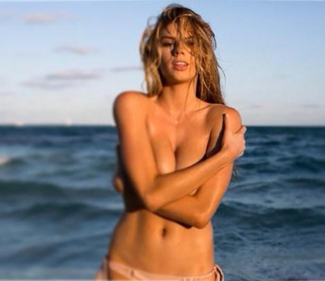 Charlotte McKinney - Beach - 18