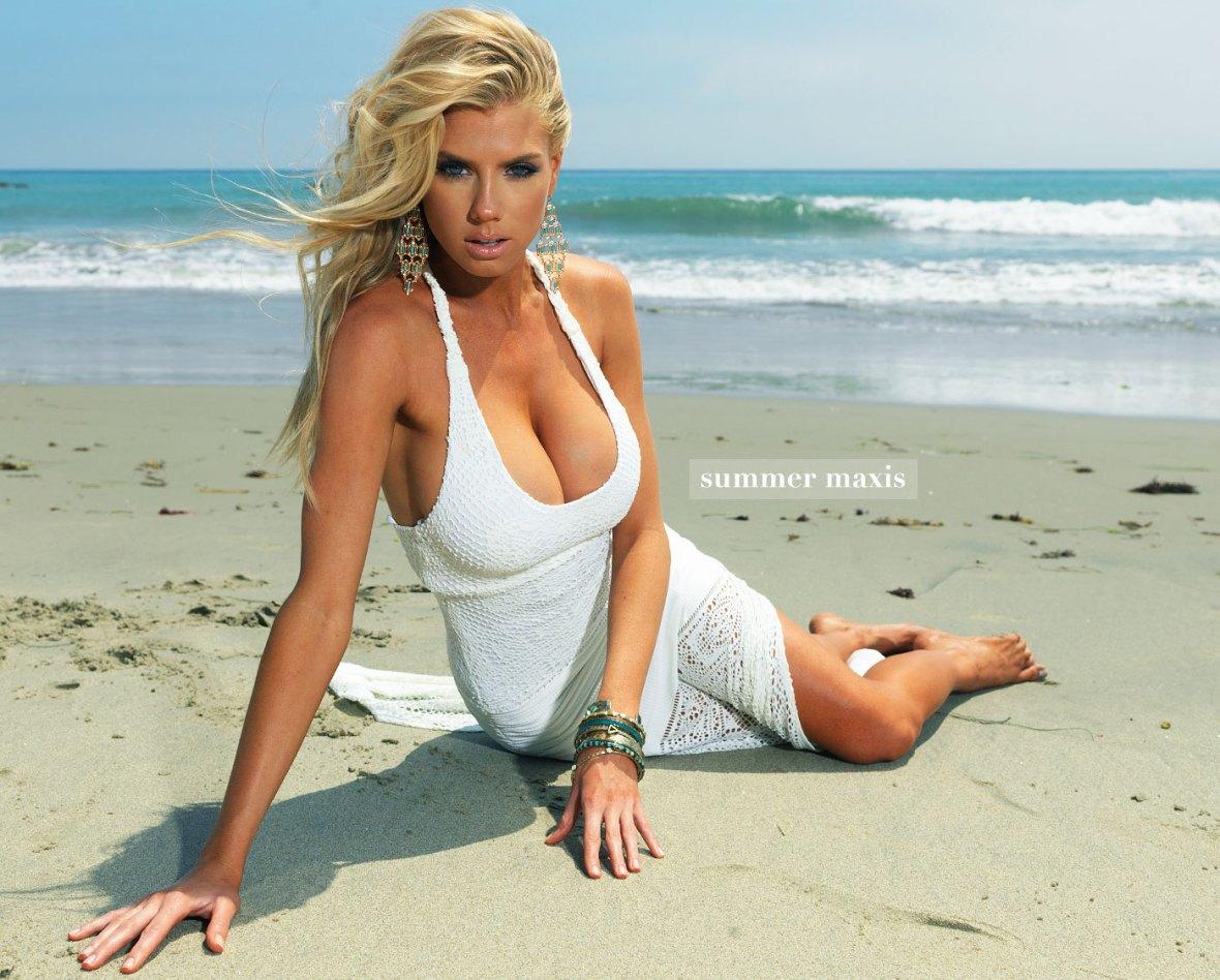 Charlotte McKinney - Beach - 33