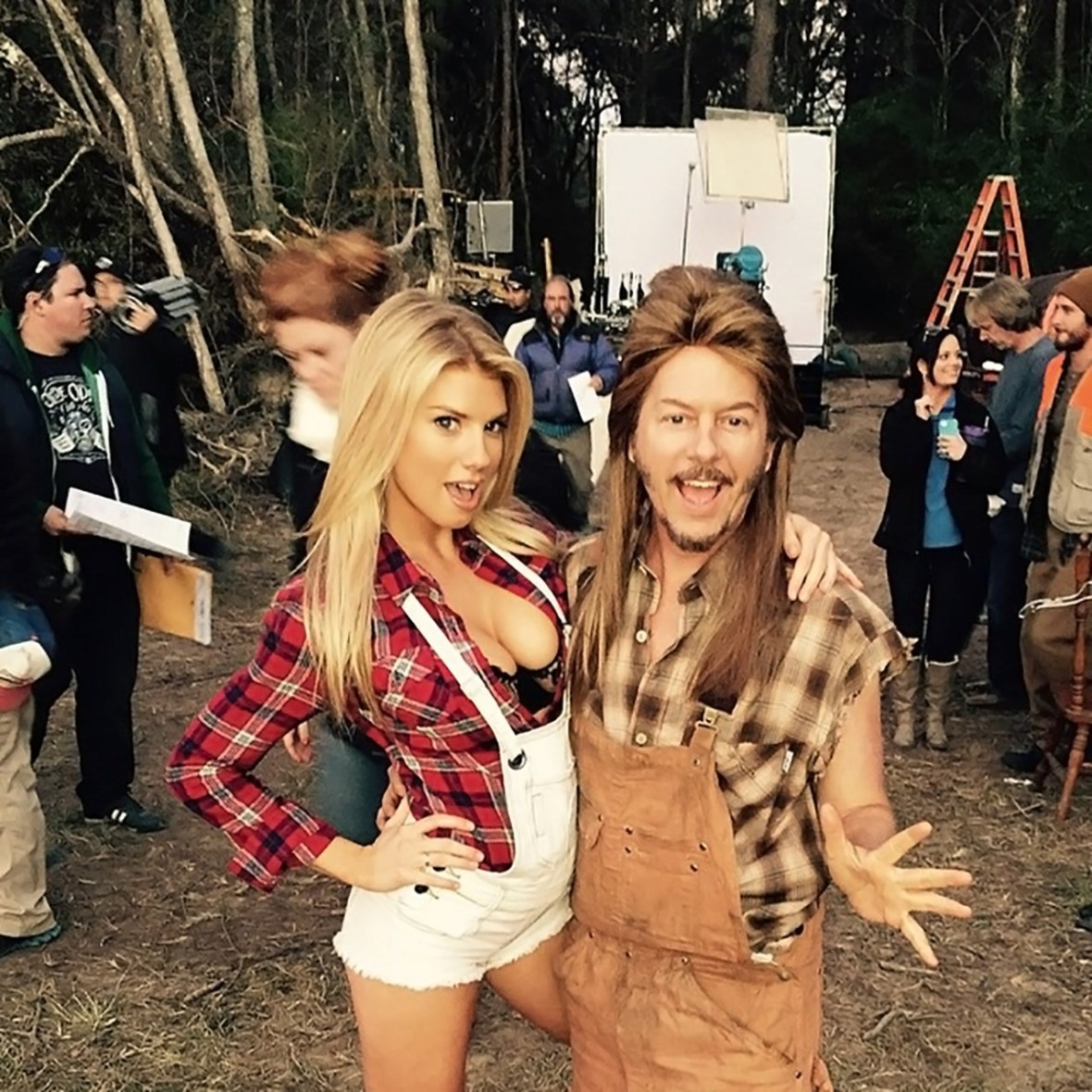 Charlotte McKinney - For Joe Dirt 2 - 01
