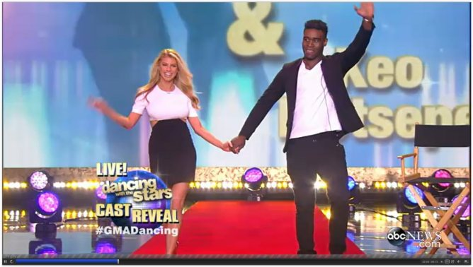 Charlotte McKinney - Dancing with the stars 01