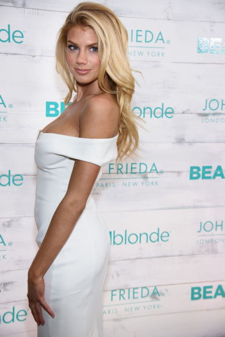 Charlotte McKinney - John Frieda Hair Care Beach Blonde Collection Party - 19
