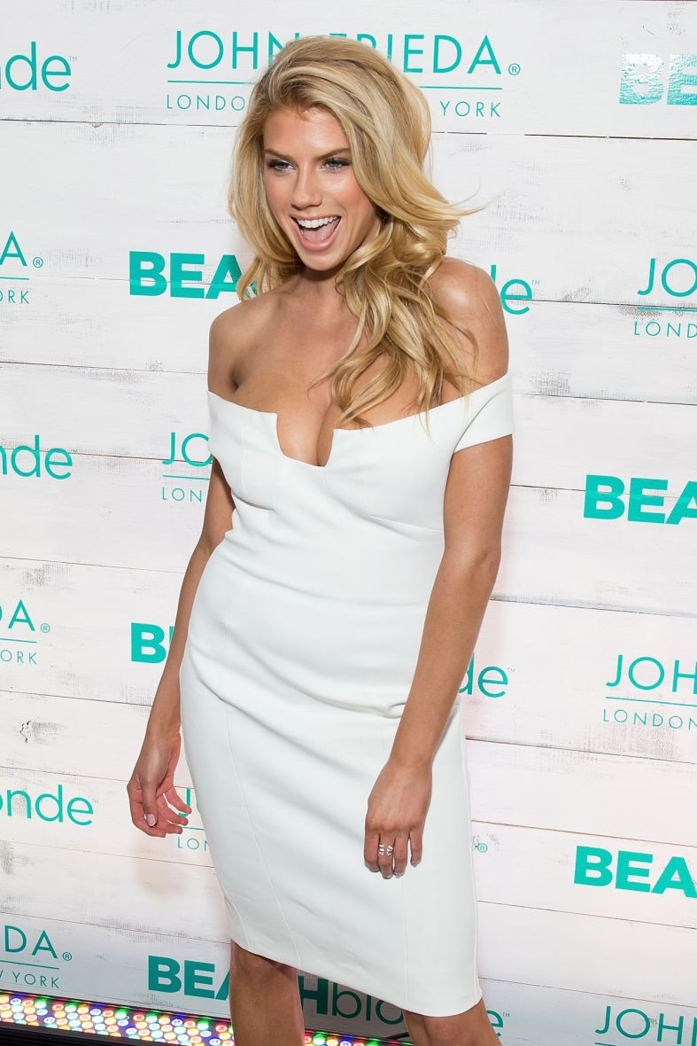 Charlotte McKinney - John Frieda Hair Care Beach Blonde Collection Party - 20